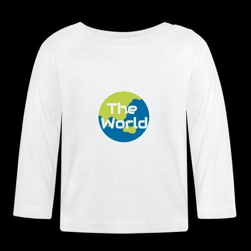 The World Earth - Langærmet babyshirt