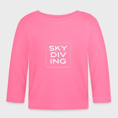 SKY DIV ING White - Baby Langarmshirt
