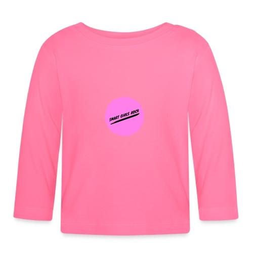 Smart Girls Rock - Baby Langarmshirt