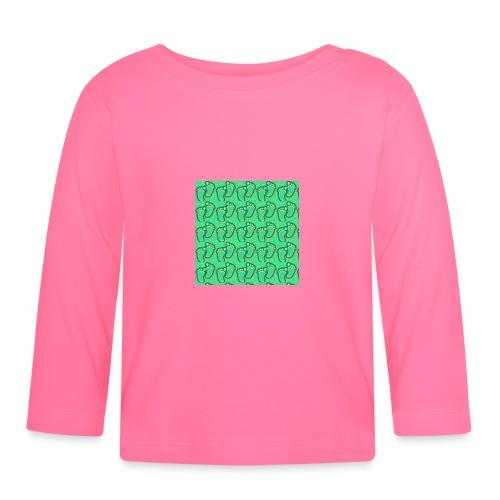 kidfootprint a7 - Baby Long Sleeve T-Shirt