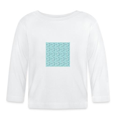 kidfootprint a9 - Baby Long Sleeve T-Shirt