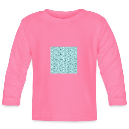 kidfootprint a9 - Baby Long Sleeve T-Shirt