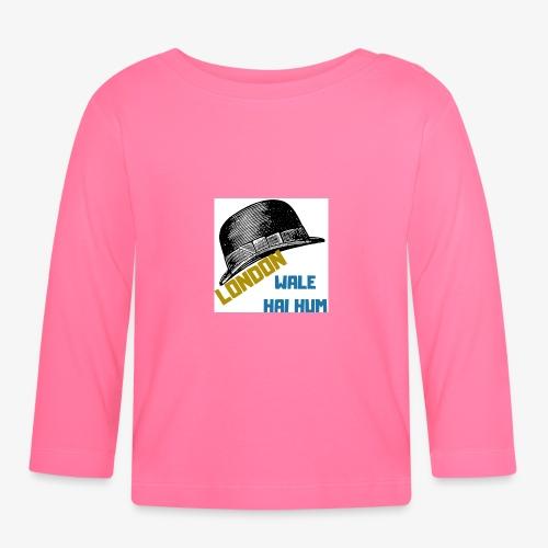 LONDON WALE - Långärmad T-shirt baby