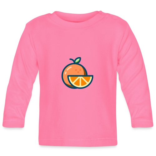 orange - Baby Long Sleeve T-Shirt