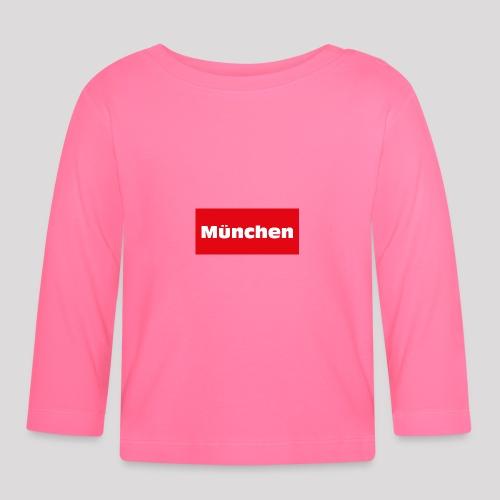 München - Baby Langarmshirt