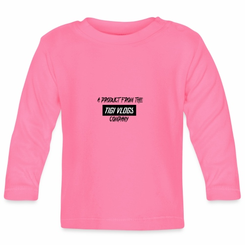 A PRODUCT FROM THE TIGIVLOGS COMPANY - Långärmad T-shirt baby