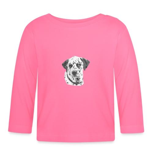 dalmatian - Langærmet babyshirt