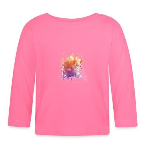 Chaton transparent - T-shirt manches longues Bébé