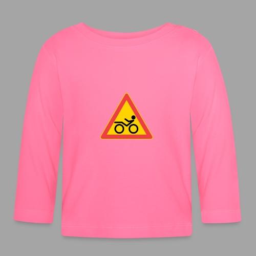 Traffic sign Recumbent - Vauvan pitkähihainen paita