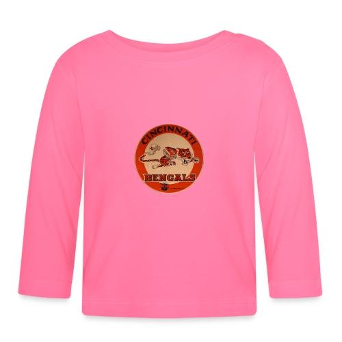 Cincinnati Bengals - Långärmad T-shirt baby