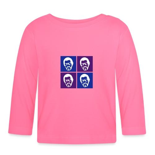 Baba warhol 3c - T-shirt manches longues Bébé