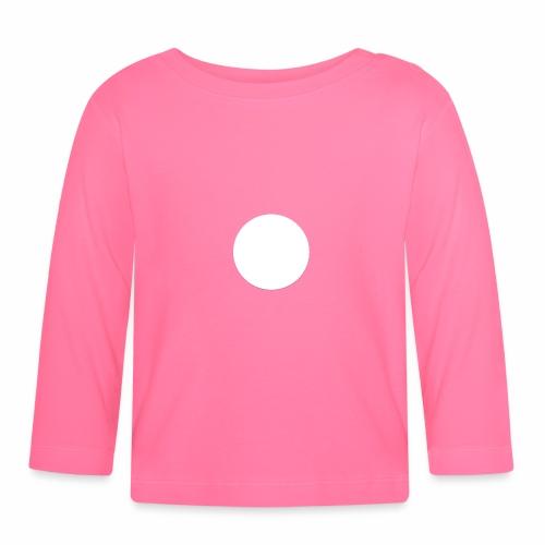 white circle - Långärmad T-shirt baby