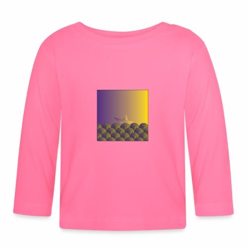 Pattern boat - Baby Long Sleeve T-Shirt