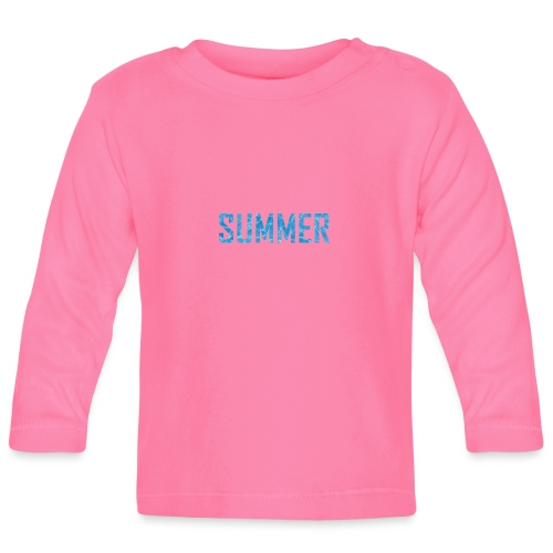 summer - Baby Long Sleeve T-Shirt