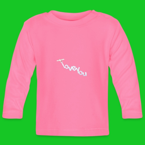 I love you vliegtuig - T-shirt