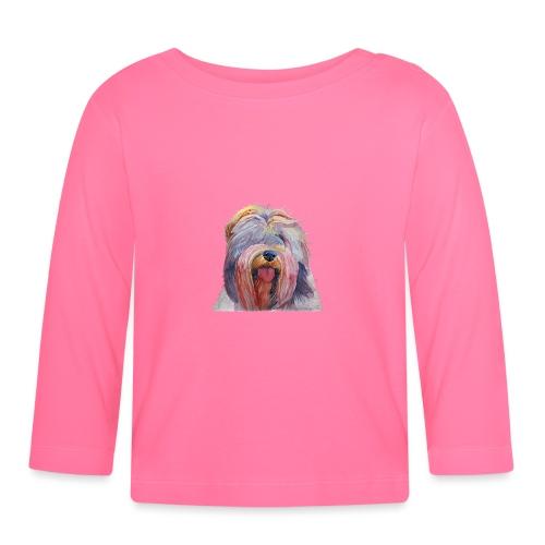 schapendoes - Langærmet babyshirt