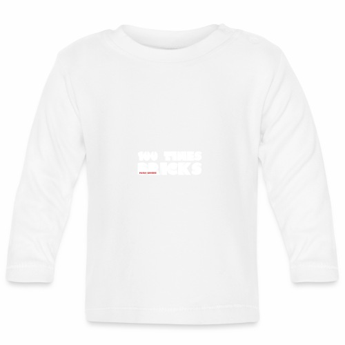 100 TIMES BRICKS retrò - Maglietta a manica lunga per bambini