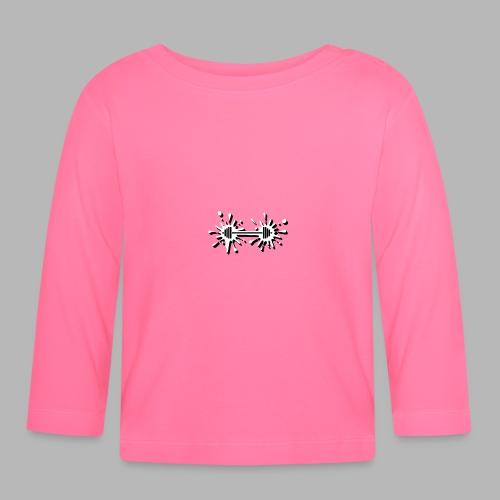 Hantel Splash - Baby Langarmshirt