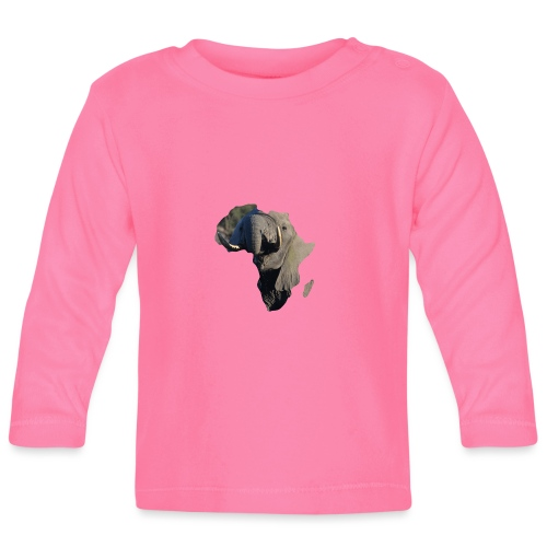 African Elephant - Baby Langarmshirt