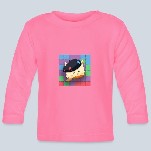 Hungry Cat Picross - T-shirt manches longues Bébé