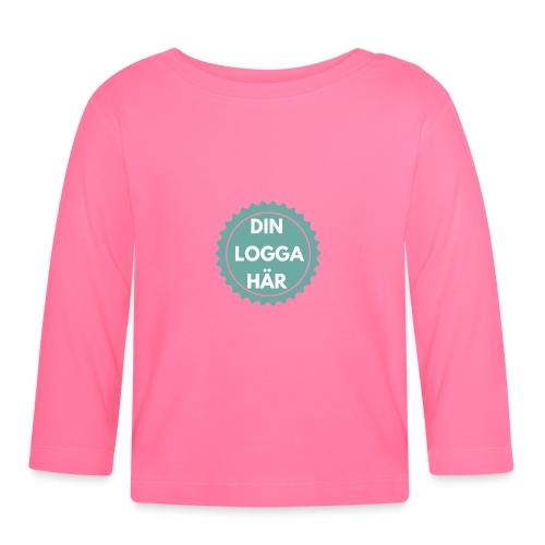 Egen Logga - Långärmad T-shirt baby