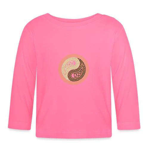 Celtic Yin & Yang - Baby Long Sleeve T-Shirt