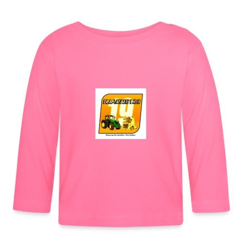 hjarne 123 danmarks bedeste youtuber - Langærmet babyshirt