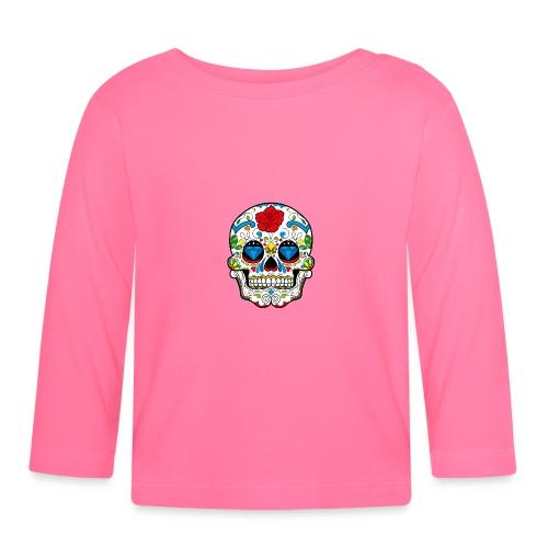 skull2 - Maglietta a manica lunga per bambini