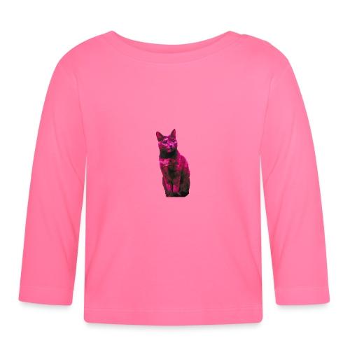 Gatto - Maglietta a manica lunga per bambini