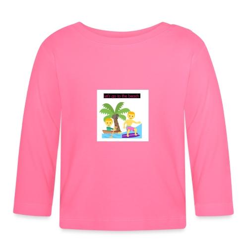 beach - Långärmad T-shirt baby