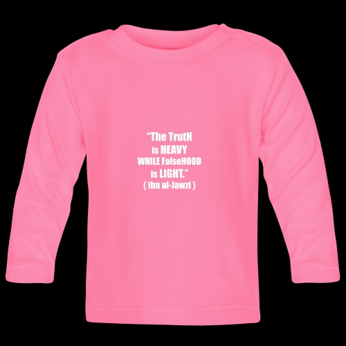 """""""The TrutH is HEAVY WHILE FalseHOOD is LIGHT.'' - T-shirt"""