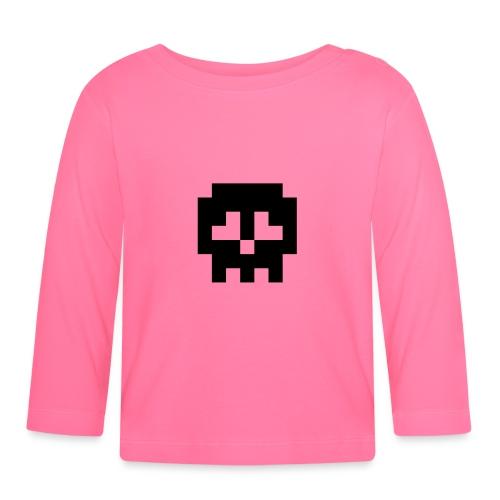 Retro Gaming Skull - Baby Long Sleeve T-Shirt