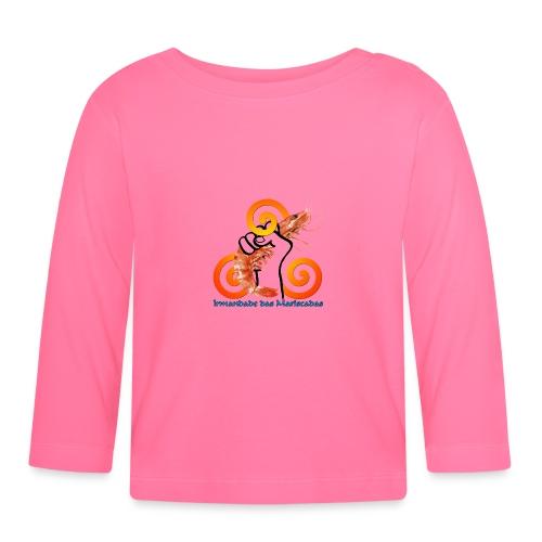 Irmandade das Mariscadas - Camiseta manga larga bebé