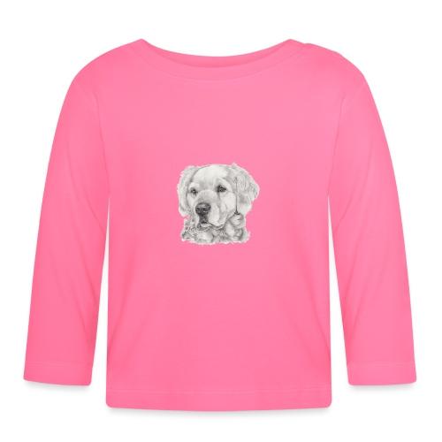 golden retriever - Langærmet babyshirt