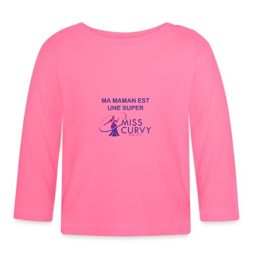 MISS CURVY Ma maman - T-shirt manches longues Bébé