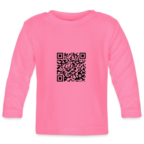 static qr code without logo2 png - Maglietta a manica lunga per bambini