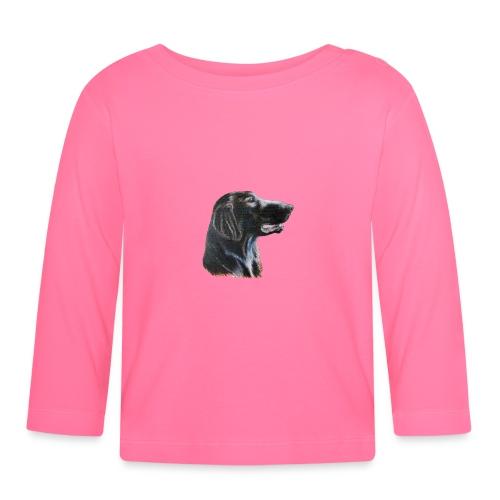 flatcoated retriever color - Langærmet babyshirt