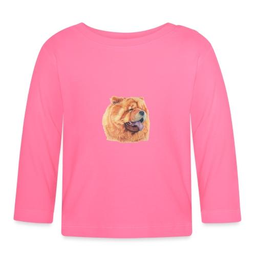 chow chow - Langærmet babyshirt