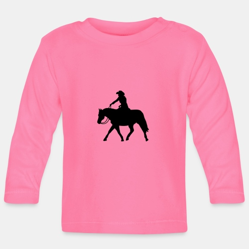 Ranch Riding extendet Trot - Baby Langarmshirt