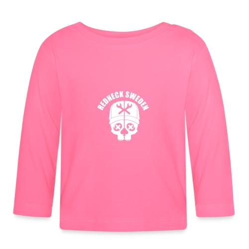 Redneck sweden logo - Långärmad T-shirt baby