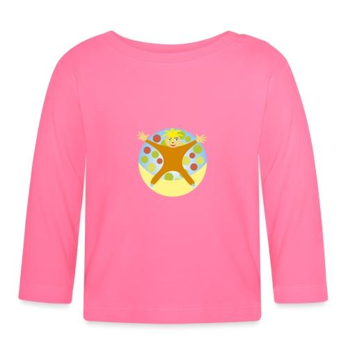 NINO_estrella - Camiseta manga larga bebé