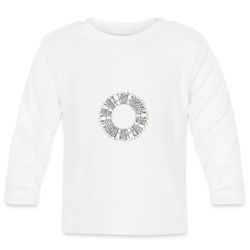 CALLIGRAPHY-CIRCLE - Maglietta a manica lunga per bambini