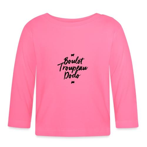 Boulot Troupeau Dodo - Mug - T-shirt manches longues Bébé