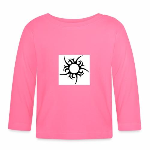 tribal sun - Baby Long Sleeve T-Shirt