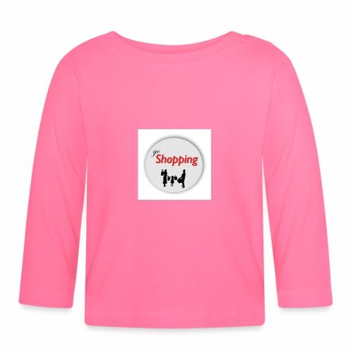 logo go shopping - Camiseta manga larga bebé