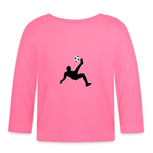 Fussballer - Baby Langarmshirt