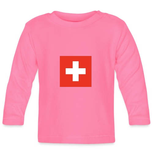 Schweiz - Baby Langarmshirt
