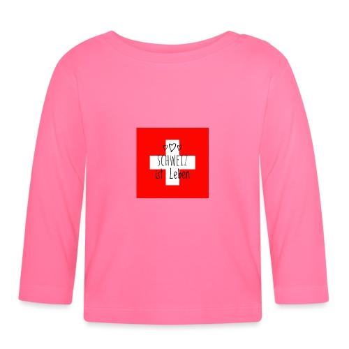Schweiz beste - Baby Langarmshirt
