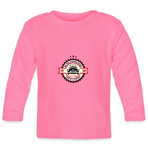 Hot Rod and Kustom Garage - Baby Langarmshirt