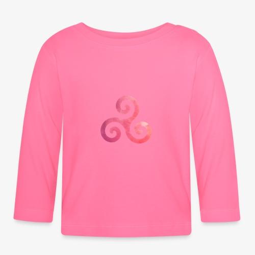Trisquel Pink - Camiseta manga larga bebé